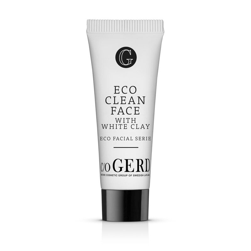 Eco Clean Face White Clay 10 i gruppen Hudvård / Rengöring & Skrubb hos  Nature Cosmetic Group Of Swedish Lapland AB (213-0010)