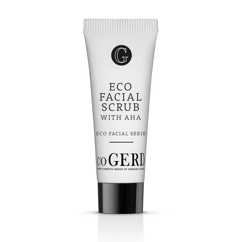 Eco Facial Scrub 10 ML i gruppen Hudvård / Rengöring & Skrubb hos  Nature Cosmetic Group Of Swedish Lapland AB (214-0010)