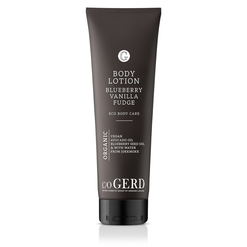 BODY LOTION BLUEBERRY VANILLA FUDGE 275 i gruppen Kroppsvård / Body Lotion & Body Oil hos  Nature Cosmetic Group Of Swedish Lapland AB (320-0275)