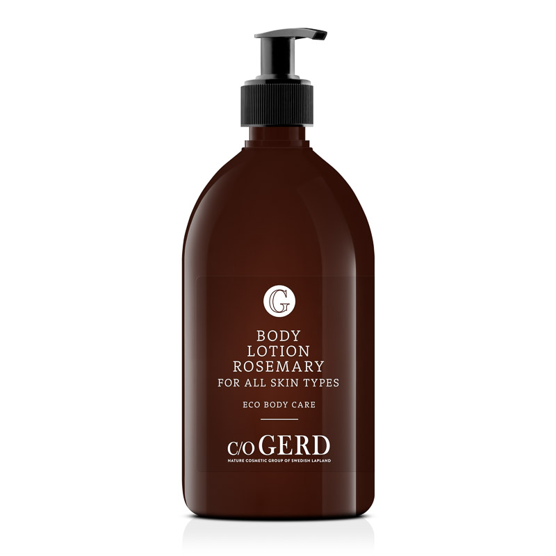 BODY LOTION ROSEMARY 500 ML i gruppen Kroppsvård / Body Lotion & Body Oil hos  Nature Cosmetic Group Of Swedish Lapland AB (321-0500)