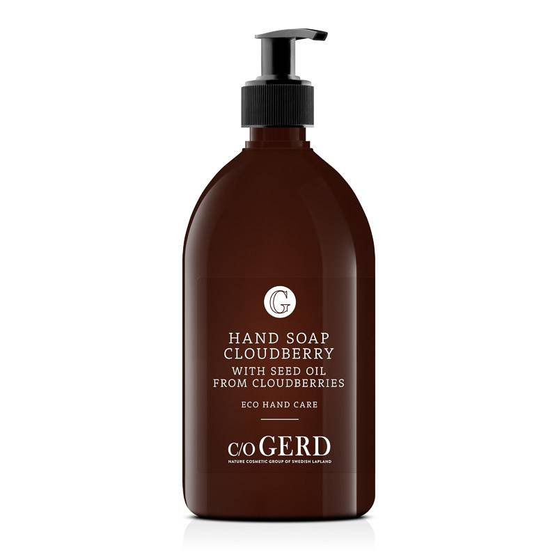 Cloudberry Hand Soap 500 ML i gruppen Handsprit/tvål & Fötter / Handkräm & Handtvål hos  Nature Cosmetic Group Of Swedish Lapland AB (501-0500)