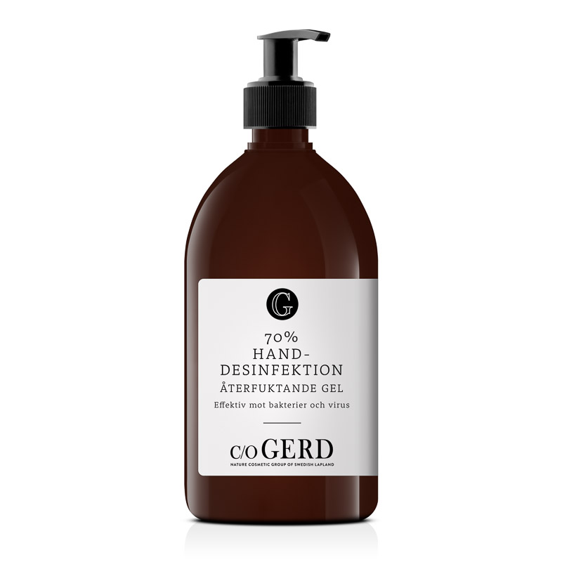 Handdesinfektion 70% 500ml  i gruppen Handsprit/tvål & Fötter / Handdesinfektion 70% hos  Nature Cosmetic Group Of Swedish Lapland AB (550-0500)