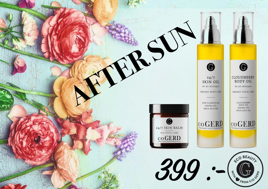Aftersun kit i gruppen Kroppsvård / Body Lotion & Body Oil hos  Nature Cosmetic Group Of Swedish Lapland AB (AFTERSUN)